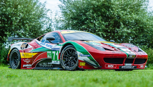 Ferrari 458 GT2 GTE Works car for sale at Jan B. Luehn