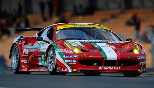 Ferrari 458 GT2 Works car for sale at Jan B. Luehn