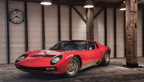 Lamborghini Miura SV for sale by Jan B. Luehn
